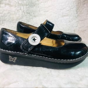Algeria Black patent leather maryjane shoes